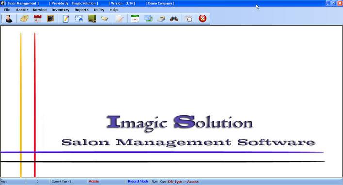 Click to view Salon Software 3.14 screenshot