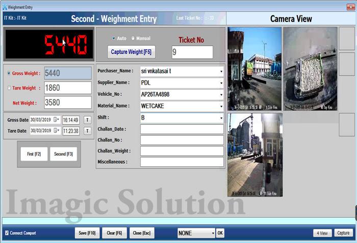 weighbridge software, weighing software, weighing scale